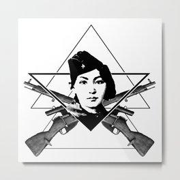 The Sniper (triangle) Metal Print
