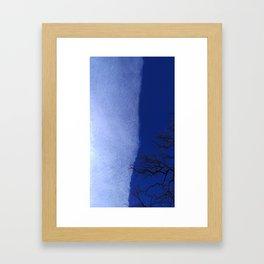 Split the Sky Framed Art Print