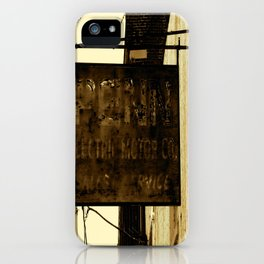 Penn Electric  iPhone Case