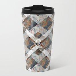 Geometric Collage Travel Mug