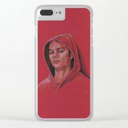 Stiles in Red Clear iPhone Case