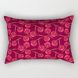 Sweet Cherries Rectangular Pillow