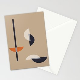 Geometric Abstract #13 Stationery Cards