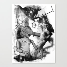 Nameless Victim Canvas Print
