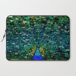 :: Peacock Caper :: Laptop Sleeve