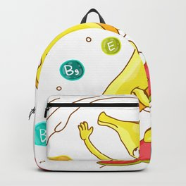 Surfing Banana Backpack
