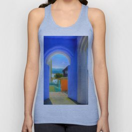 Continental Blue Archway Unisex Tank Top