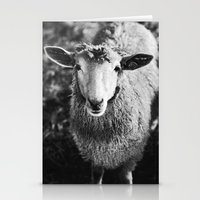 sheep Stationery Cards featuring Sheep by SilverSatellite