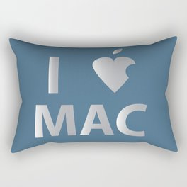 I heart Mac Rectangular Pillow