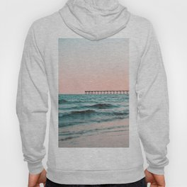 Beach Pier Sunrise Hoody