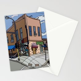 331 Club, Jon Oulman Salon, Modern Cafe - Minneapolis Stationery Cards