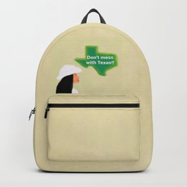 Don't Mess With Texas 1 Backpack