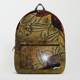 Steampunk, giraffe Backpack