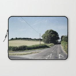 junction in the countryside Laptop Sleeve
