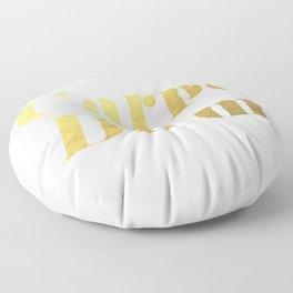 Carpe Diem (Gold) Floor Pillow