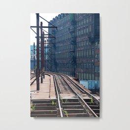 Bethlehem Steel railroad 2 Metal Print