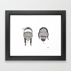 BEST BUDS Framed Art Print
