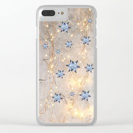 Star Wall | Christmas Spirit Clear iPhone Case