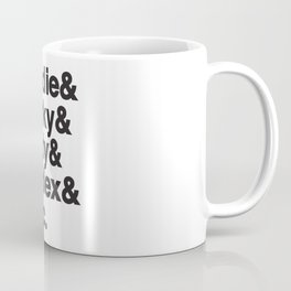Drum and bass Kings, Zinc, Goldie Marky, Intalex and Andy  - Designed for drum and bass lovers Coffee Mug