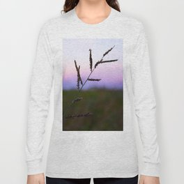 Grass Seed Sunset Long Sleeve T-shirt