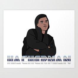 Hackerman Art Print