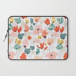 Wild Beauty Saffron Laptop Sleeve