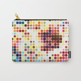 Dotty Mosaic Carry-All Pouch