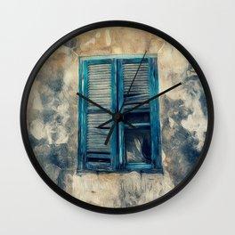The Old Window Wall Clock