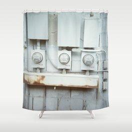 Les machines c'est beau Shower Curtain