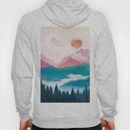 Wilderness Becomes Alive at Night II Hoody