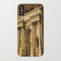 lee pace iPhone & iPod Cases featuring Arco della Pace Milan by Louisa Catharine Photography And Art
