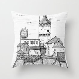 sighisoara1 Throw Pillow