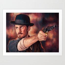 Stick 'em up Art Print