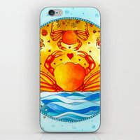 cancer iPhone & iPod Skins featuring Cancer by Sandra Nascimento