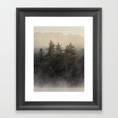 the coming light Framed Art Print