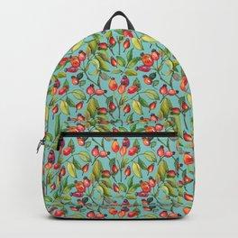 Dogrose pattern Backpack