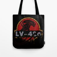 lv Tote Bags featuring LV-426 by Crumblin' Cookie