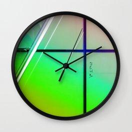 Urban Windows Wall Clock