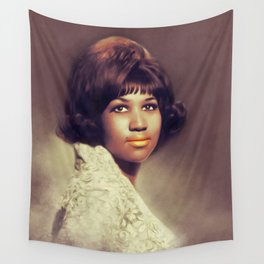Aretha Franklin, Music Legend Wall Tapestry