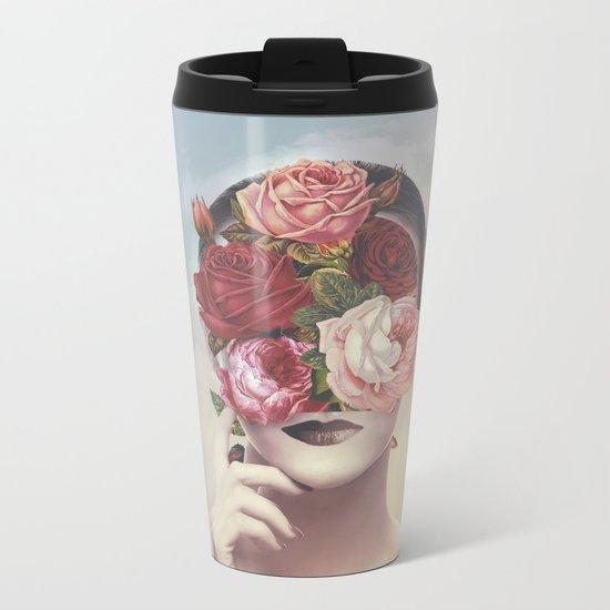 Flamboyant Metal Travel Mug