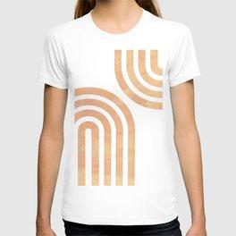 Baked Earth Geometric Rainbow T-shirt