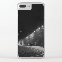 Budapest. Clear iPhone Case