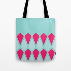 Blue Diamonds Tote Bag