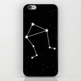 Libra Astrology Star Sign Night Sky iPhone Skin
