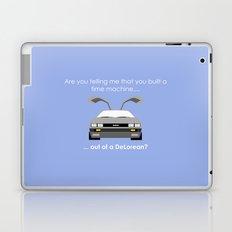 Back to the Future - Delorean Laptop & iPad Skin