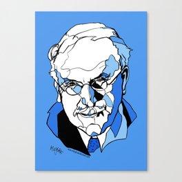 Swiss Psychiatrist Carl Jung Canvas Print