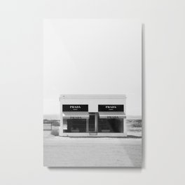 Fashion House Metal Print