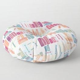bookish dreams Floor Pillow