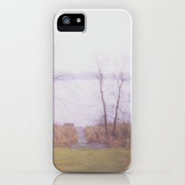 Wintry Lake iPhone Case
