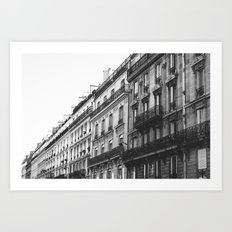 Paris Street Art Print